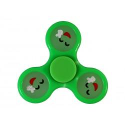 Fidget Spinner Toy - EMOJI PEACE VERT (BRILLE DANS LE NOIR)