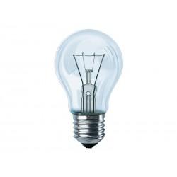 Pack de 10 ampoules Philips 60 Watts E27 (Transparent)