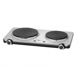 Clatronic DKP 3668 E Stainless steel double hotplate inox