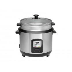 Cuiseur de riz et cuisson vapeur Clatronic RK 3567 - Inox