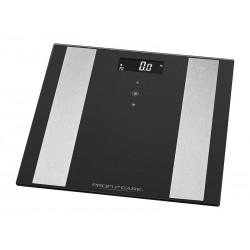 Balance d\'analyse en verre ProfiCare 8en1 PC-PW 3007 FA (noir-acier inoxydable)