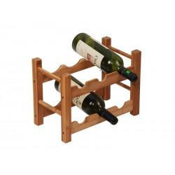 MK Bamboo ROMA - Casier à 6 bouteilles de vin
