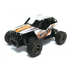 Monster Truck RC KING CHEETAH Wizard 118 2.4Ghz (blanc-orange)
