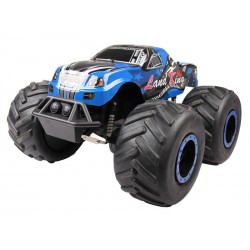 Monster Truck RC LK SERIES RACING Land-King 18 2.4G (bleu)