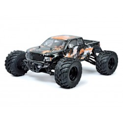 4x4 Monster Truck RC Survivor 112 2.4G (noir-orange)