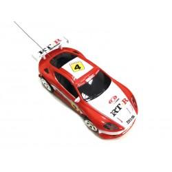 Mini voiture de sport 158 (rouge-blanc)