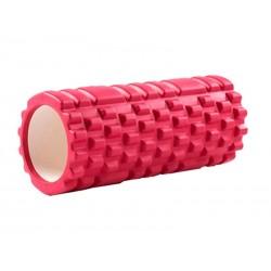 Rouleau de massage Yoga 33x14cm (Rouge)
