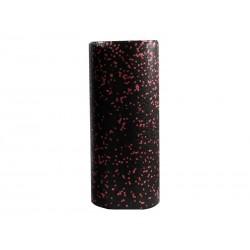 Rouleau de massage Yoga 33x15cm (Noir/Rose)