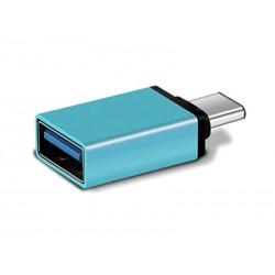 Adaptateur USB Type-C - USB 3.0 (Bleu)